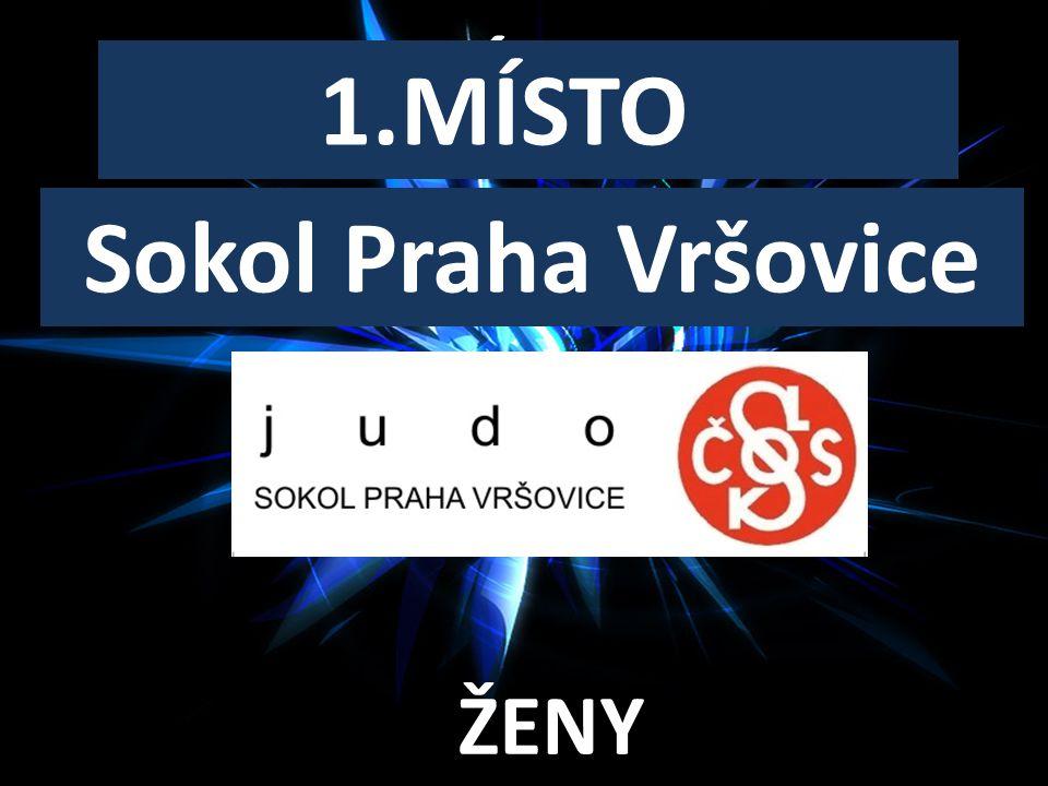 SENIORSKÝ KLUB ROKU 1.MÍSTO ŽENY Sokol Praha Vršovice