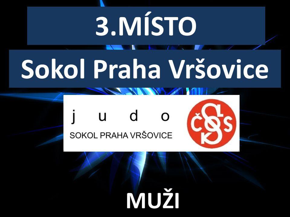 SENIORSKÝ KLUB ROKU 3.MÍSTO MUŽI Sokol Praha Vršovice