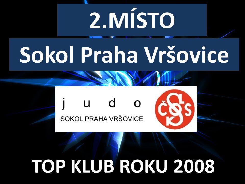 TOP KLUB ROKU 2008 2.MÍSTO Sokol Praha Vršovice