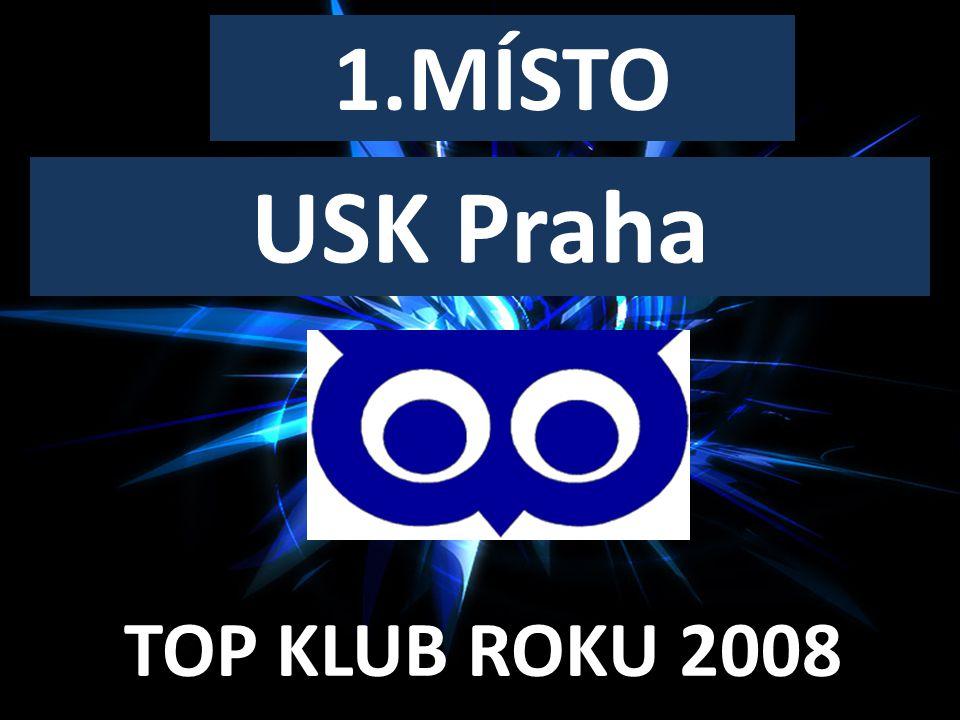 TOP KLUB ROKU 2008 1.MÍSTO USK Praha