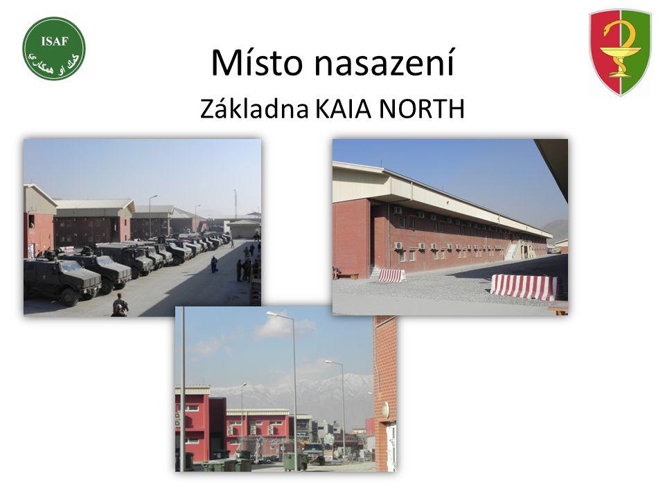 Základna KAIA NORTH Místo nasazení