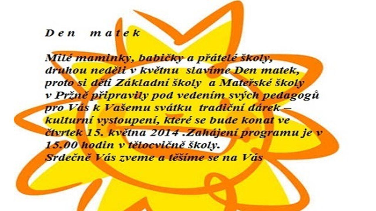SK Pržno - oddíl kopané Příští zápasy: Ženy 3.5.2014, 15:00 Lubina - SK Pržno 7.5.2014, 17.00 SK Pržno - Brušperk Muži 3.5.
