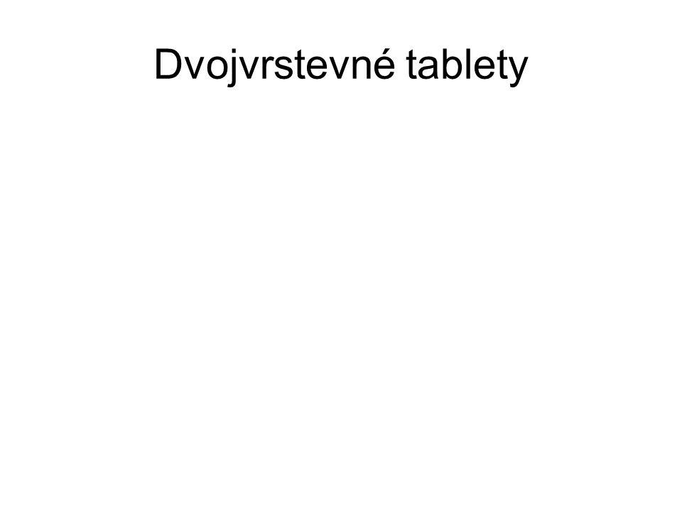 Dvojvrstevné tablety