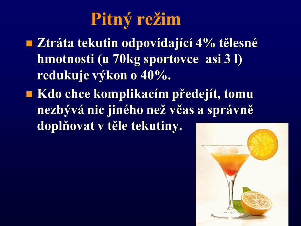 n n dbát na dostatečný přísun vitamínů a minerálů (čerstvé sezónní ovoce a zelenina) n n pitný režim