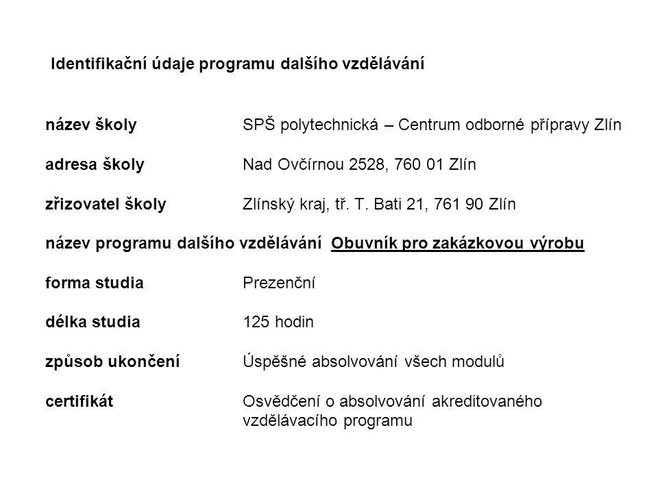 Osnova prezentace 1.Východiska projektu 2. Vlastní tvorba a zajištění programu 3.