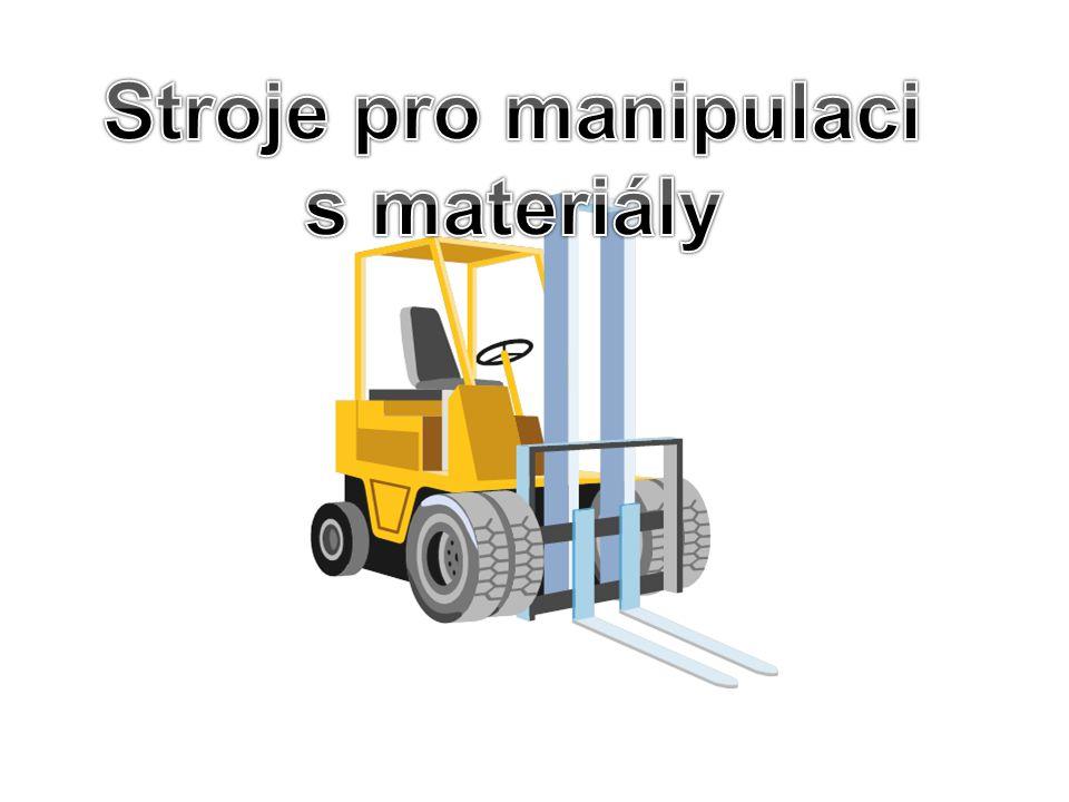 2.Nízkozdvižné vozíky − s ručním ovládáním - tzv.