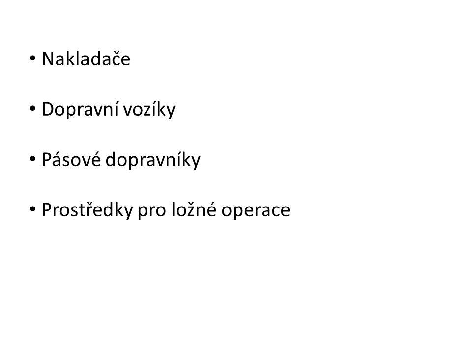 Stroje pro manipulaci s materiály Robert Lefan, SPŠ stavební, České Budějovice