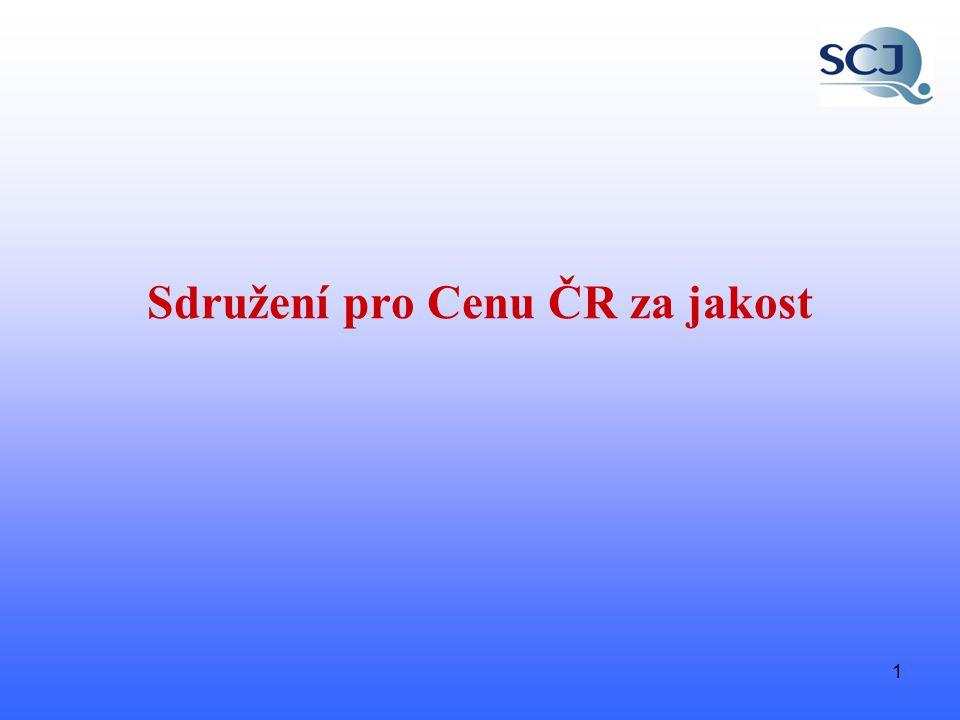 1 Sdružení pro Cenu ČR za jakost