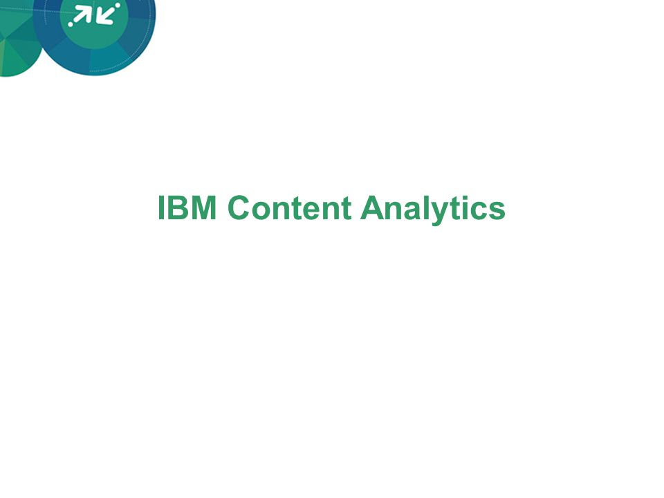 IBM Content Analytics