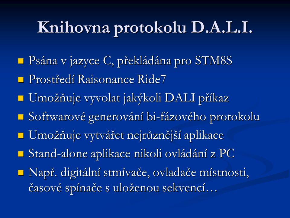 Knihovna protokolu D.A.L.I.