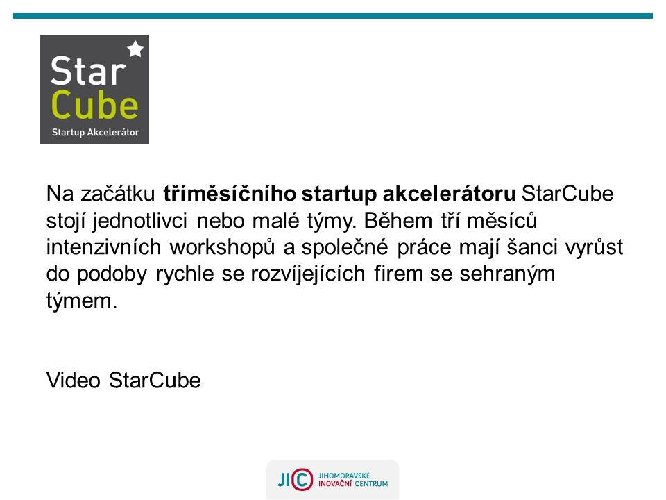 Na začátku tříměsíčního startup akcelerátoru StarCube stojí jednotlivci nebo malé týmy.