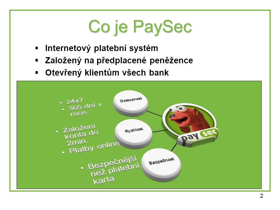 3 Co dává PaySec uživatelům.