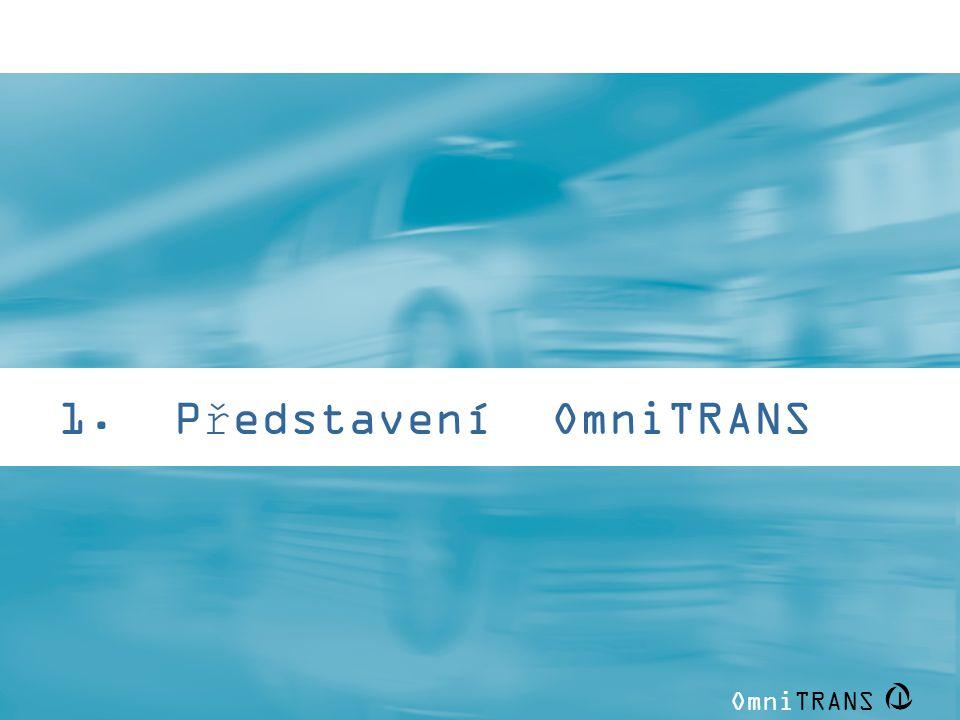 OmniTRANS | 1. Představení OmniTRANS
