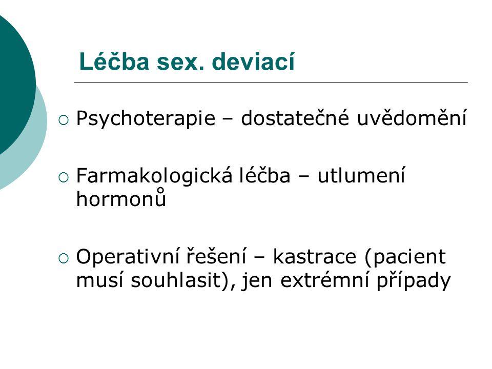 Léčba sex.