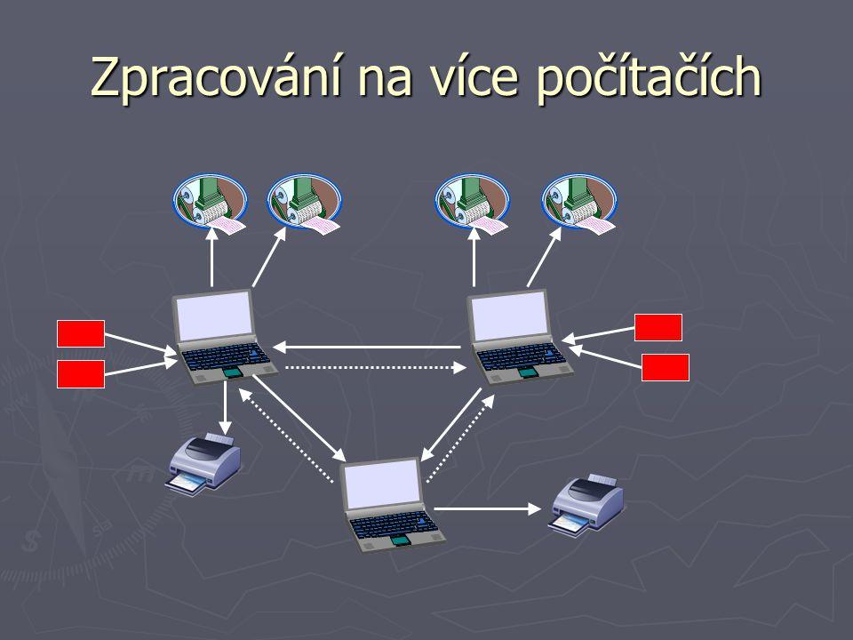 Zpracování na více počítačích