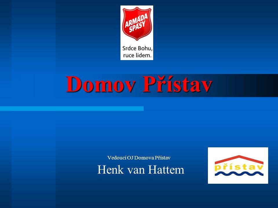 Domov Přístav Vedoucí OJ Domova Přístav Henk van Hattem