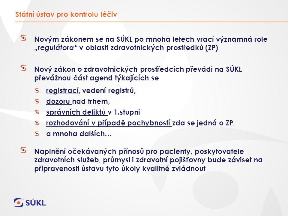 1.Nové úkoly pro SÚKL od 1. 1.