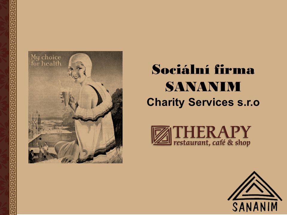 Sociální firma SANANIM Charity Services s.r.o