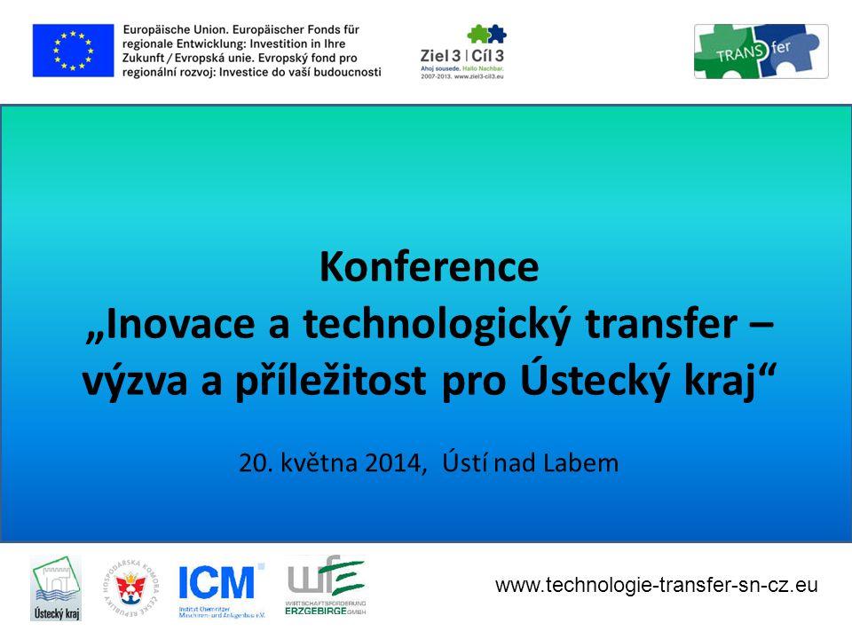 20.května 2014 Propojení vědy a výzkumu pro malé a střední podniky v sasko-českém příhraničí 20.