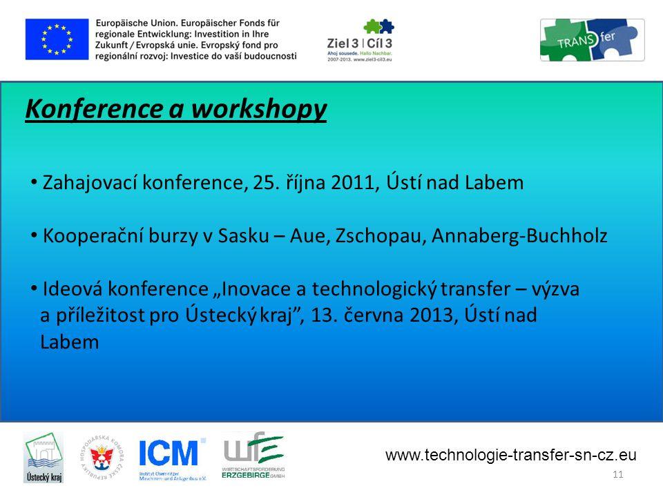Konference a workshopy • Zahajovací konference, 25.