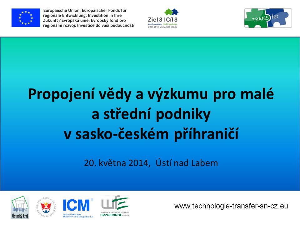 """• Společný workshop projektu, Inovacentra ČVUT, UJEP a VŠFS Téma: """"Partnerství s výzkumnou institucí: špičkové znalosti jako přidaná hodnota vašim inovacím , 23."""