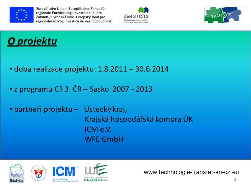 Cíle projektu: • Zmapování inovačního potenciálu regionu (odvětví průmyslu, obory VaV, hlavní subjekty inovačního prostředí … • • Podpora spolupráce podniků a VaVaI organizací (podporovat vznik vzájemných vazeb, zvýšit povědomí o VaV v regionu, umožnit podnikům přístup k výsledkům VaV … ) • • Zvýšení VaVaI potenciálu prostřednictvím spolupráce Česko – Sasko www.technologie-transfer-sn-cz.eu 4