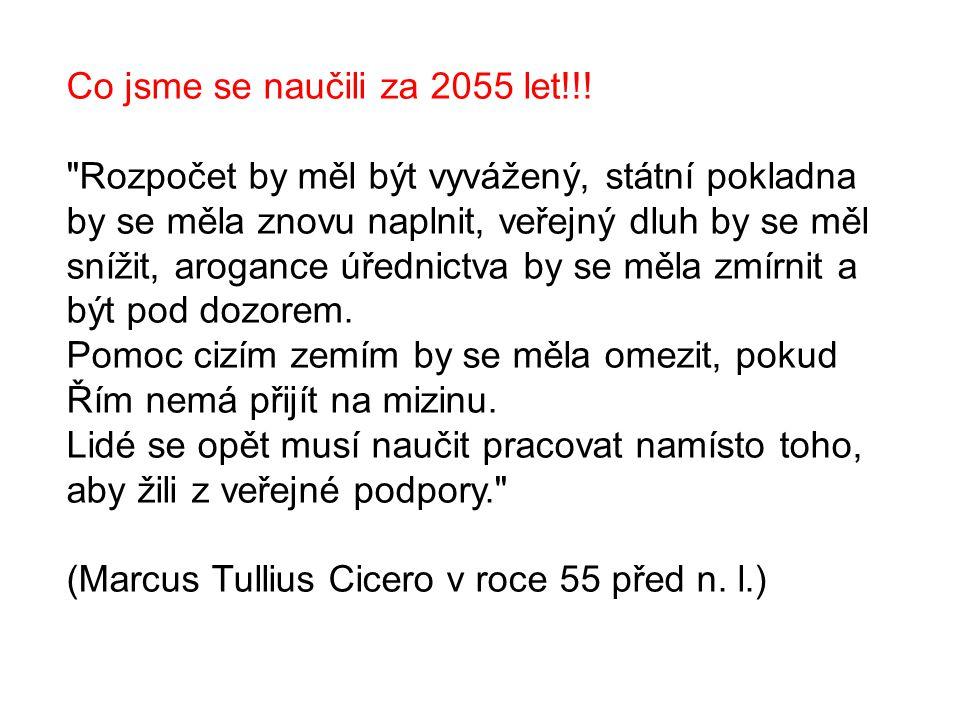 Co jsme se naučili za 2055 let!!.