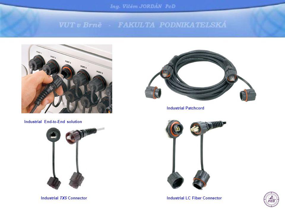 Robustní konektorová hlava pro: Jack & Plug - Giga-TX™Termination •krytí IP67 •krytka konektoru je součástí finálního product P/N •Field Terminable Plugs - montáž v terénu •Redundantní ochrana proti vodě •montáž do otvoru průměru 30.5mm nerezový ocelový kryt –1 nebo 2 otvory pro konektorové hlavy