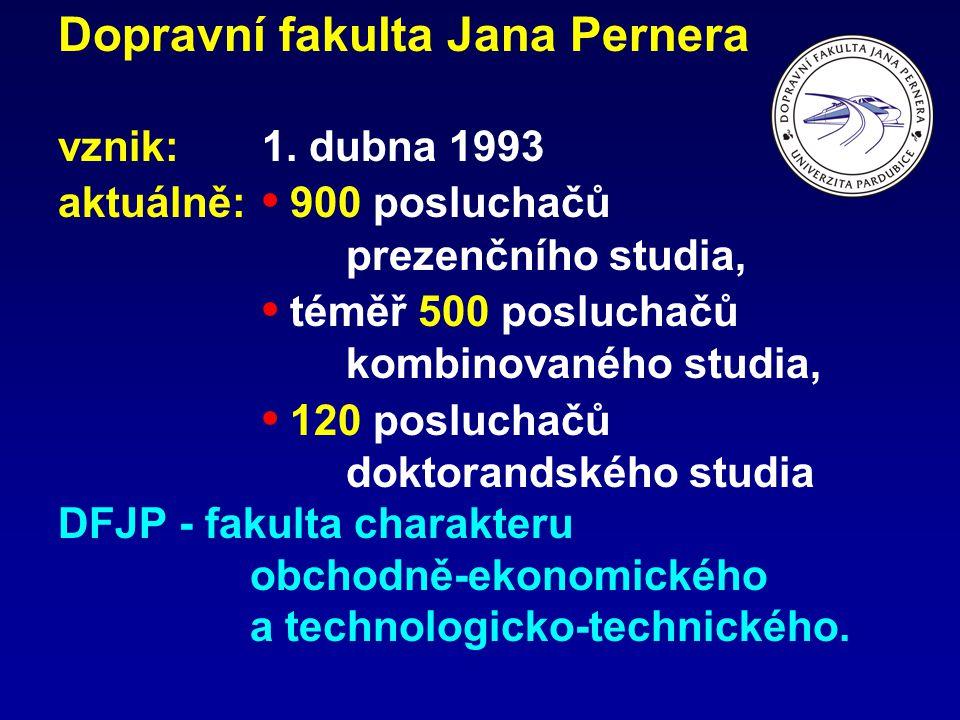 Dopravní fakulta Jana Pernera vznik: 1.