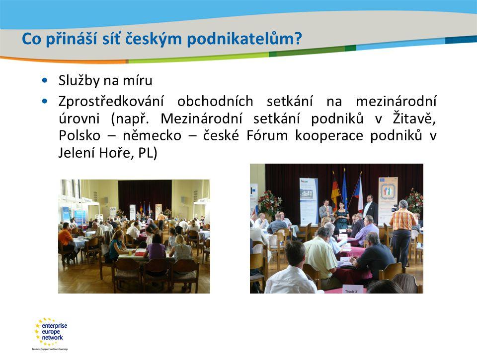 Title of the presentation | Date |‹#› Co přináší síť českým podnikatelům.