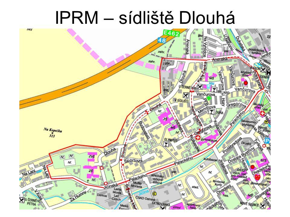 IPRM – sídliště Dlouhá