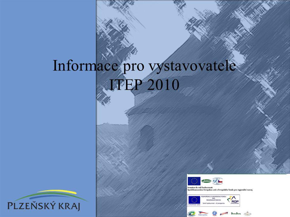 Informace pro vystavovatele ITEP 2010