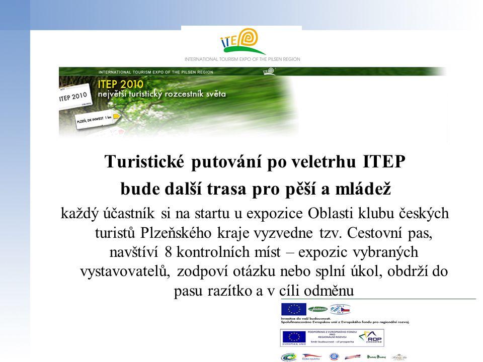 Vzhled expozic ITEP 2010 včetně rozměrů grafických ploch apod.