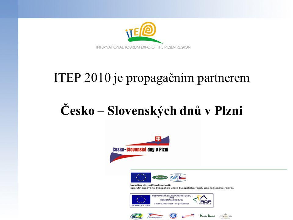 ITEP 2010 je propagačním partnerem Česko – Slovenských dnů v Plzni