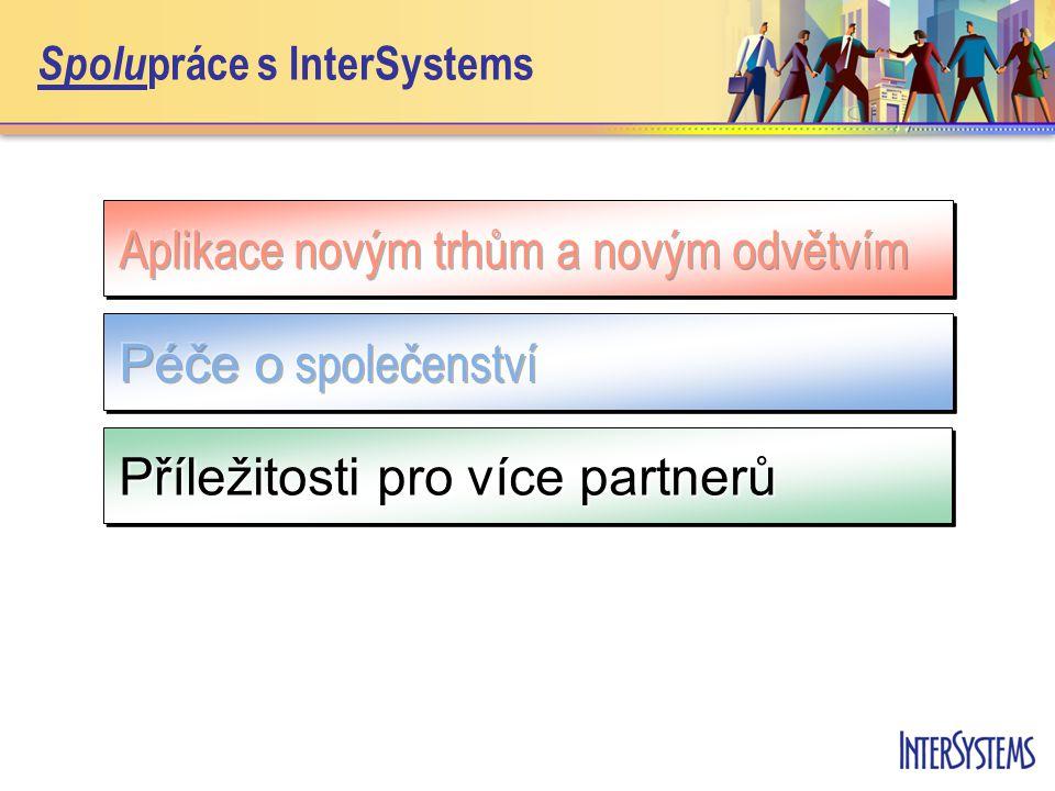 Spolu práce s InterSystems Příležitosti pro více partnerů