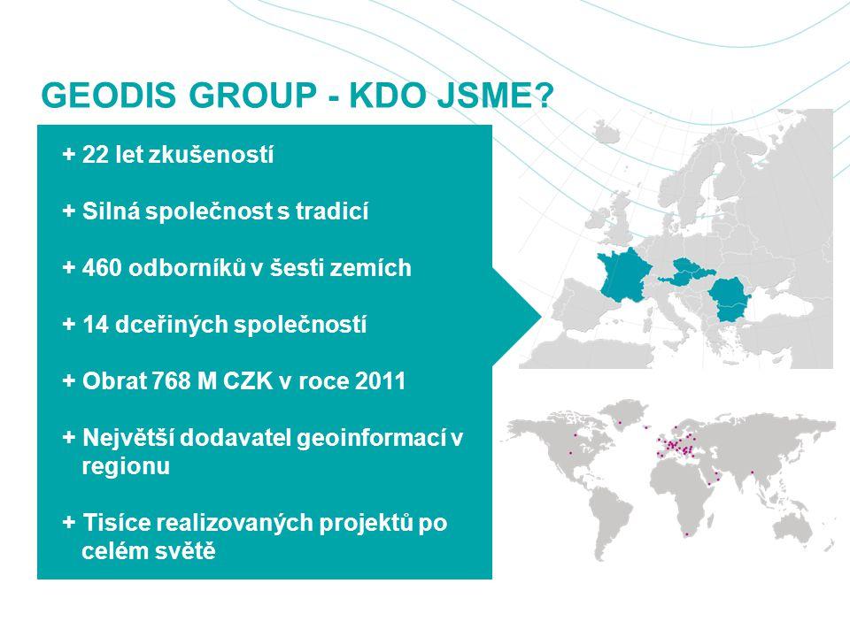 GEODIS GROUP - KDO JSME.