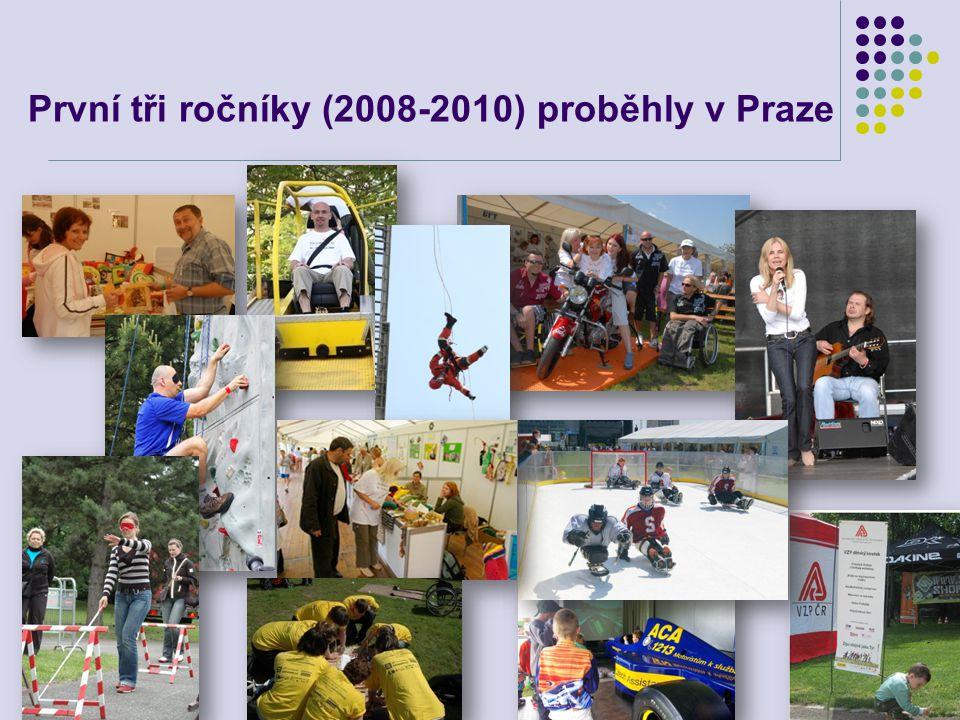 První tři ročníky (2008-2010) proběhly v Praze