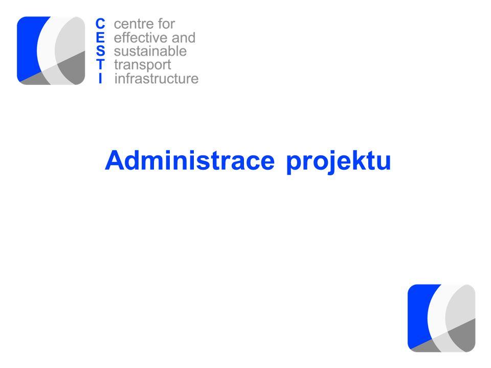 Administrace projektu