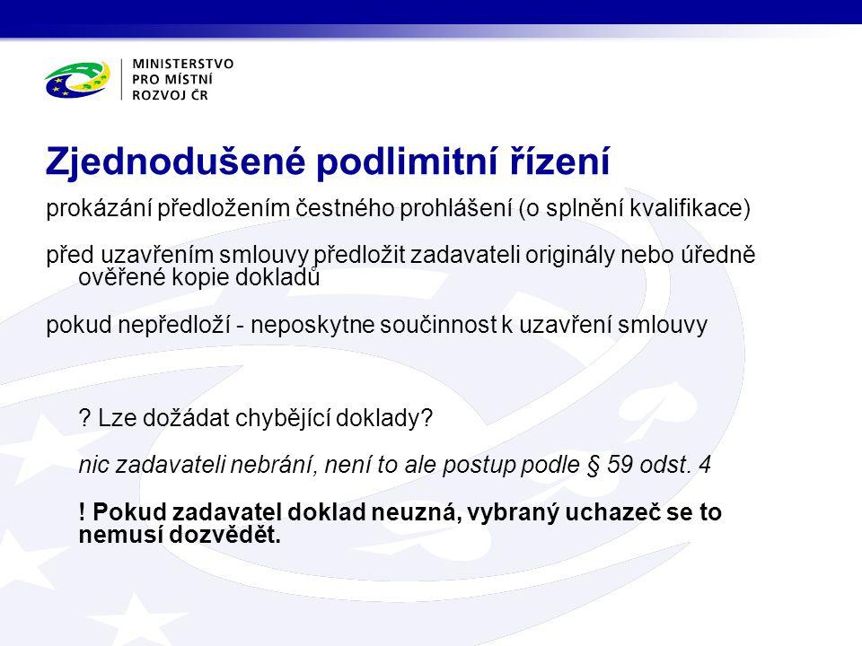 kontrola požadovaného jazyka a podepsaného návrhu smlouvy (§ 71 odst.