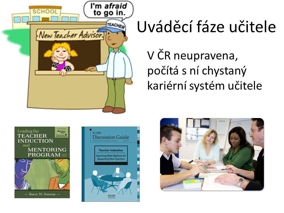 Uváděcí fáze učitele V ČR neupravena, počítá s ní chystaný kariérní systém učitele