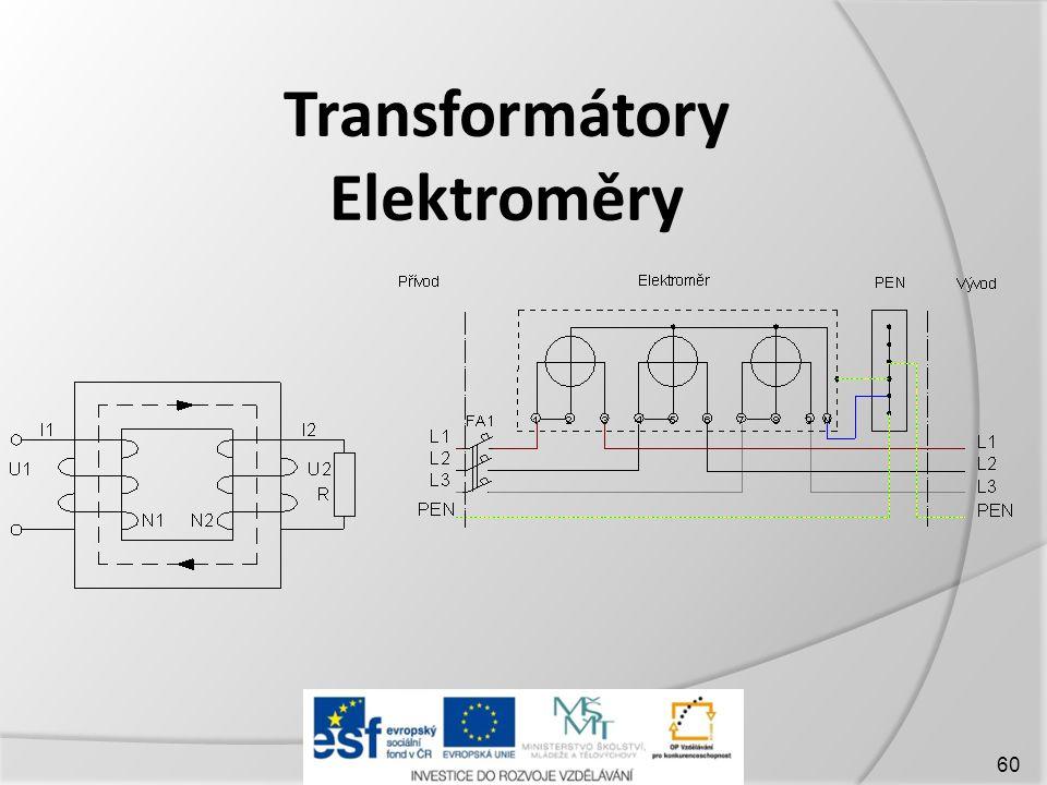 Transformátory Elektroměry 60