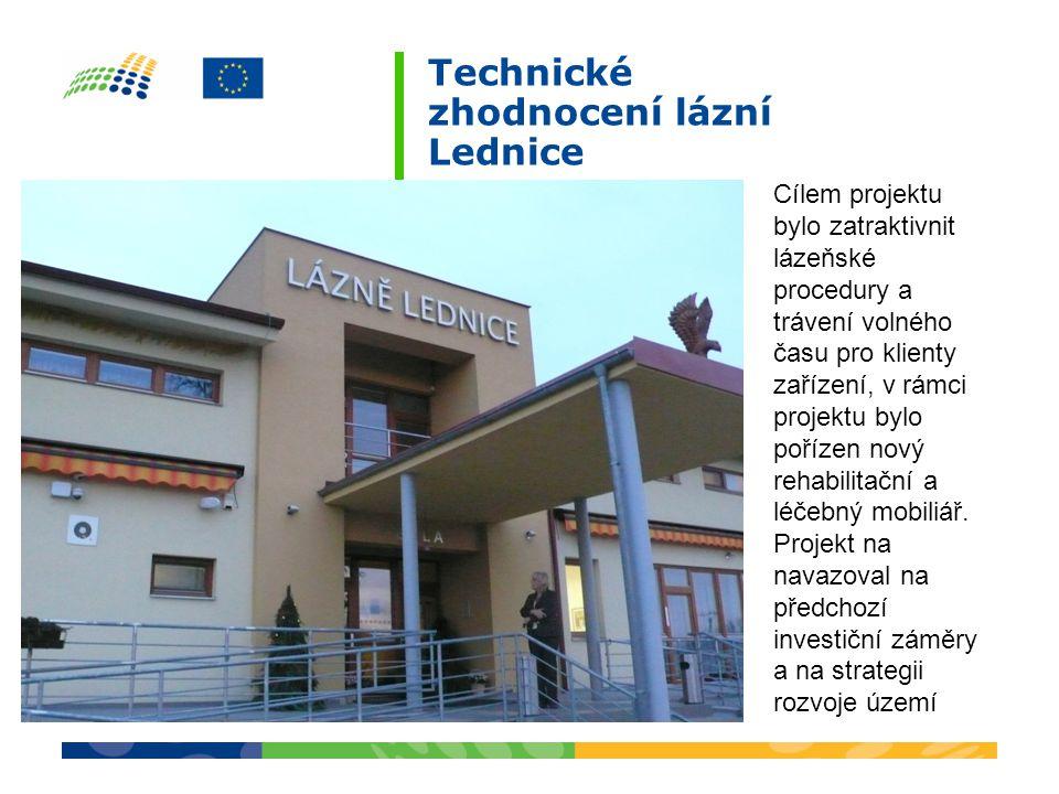 Cílem projektu bylo zatraktivnit lázeňské procedury a trávení volného času pro klienty zařízení, v rámci projektu bylo pořízen nový rehabilitační a léčebný mobiliář.
