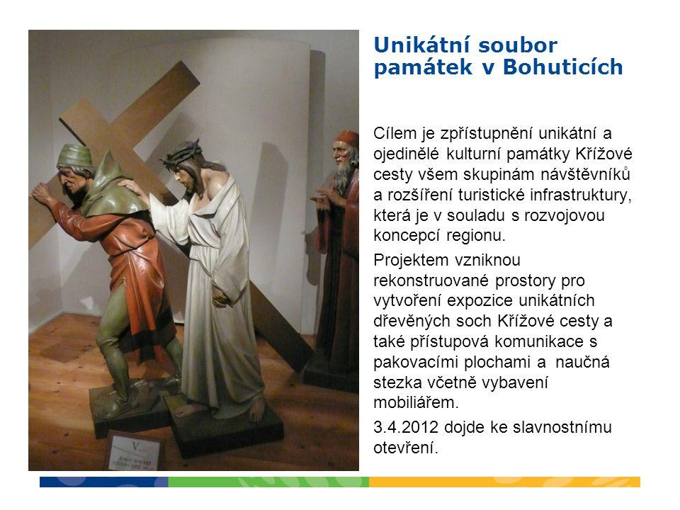 Cílem je zpřístupnění unikátní a ojedinělé kulturní památky Křížové cesty všem skupinám návštěvníků a rozšíření turistické infrastruktury, která je v souladu s rozvojovou koncepcí regionu.
