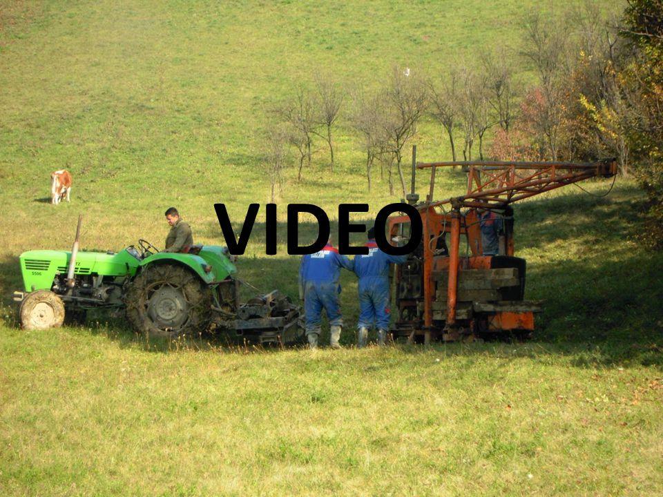 Průzkumné metody 8Zemní konstrukce 2011/2012 Přímá průzkumná díla: • vrty • kopané sondy VIDEO