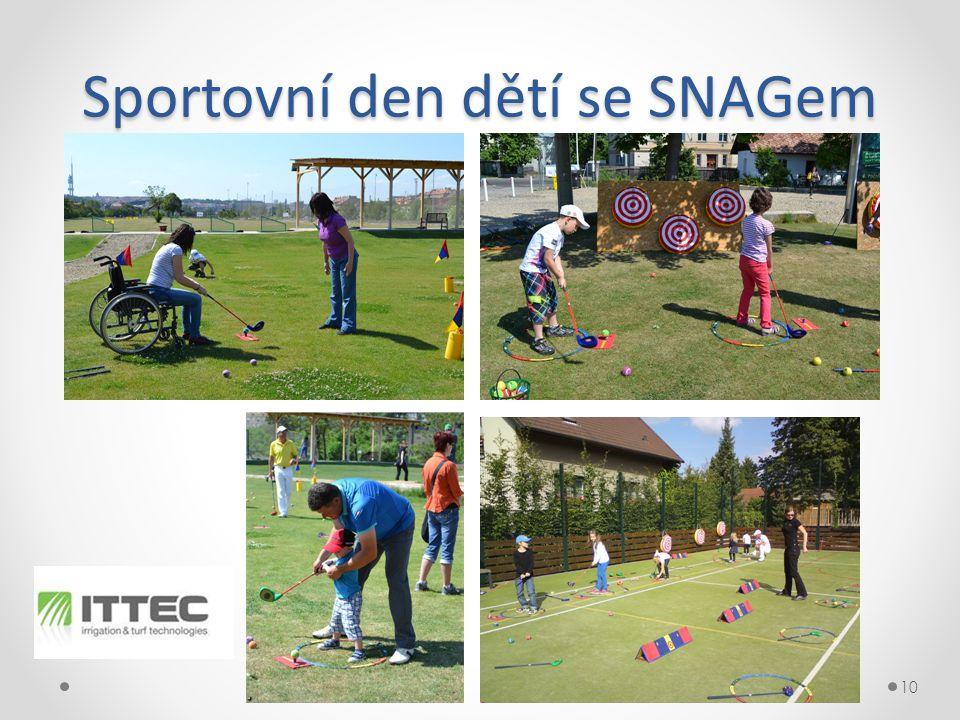 Sportovní den dětí se SNAGem 10