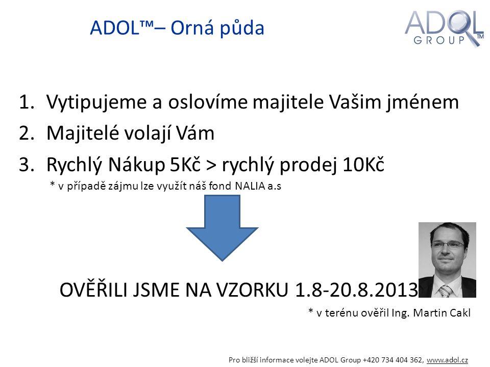 Ukázka vykoupené vinice5Kč/m2 Pro bližší informace volejte ADOL Group +420 734 404 362, www.adol.cz