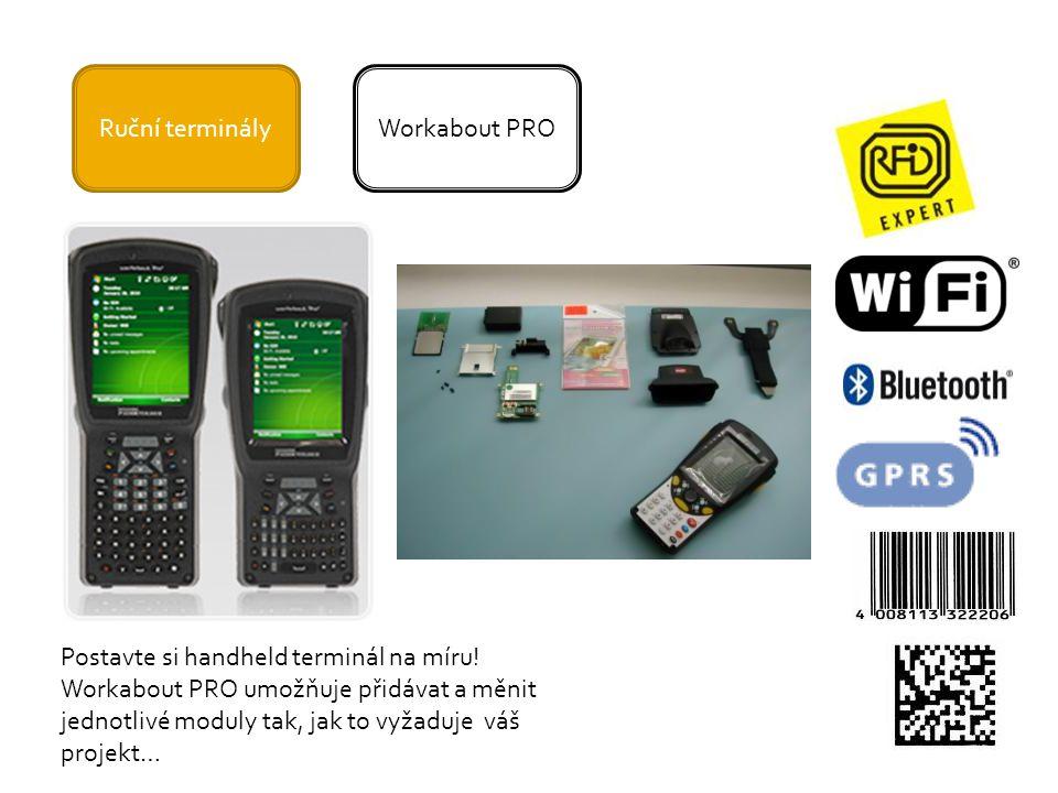 Ruční terminályWorkabout PRO Postavte si handheld terminál na míru.