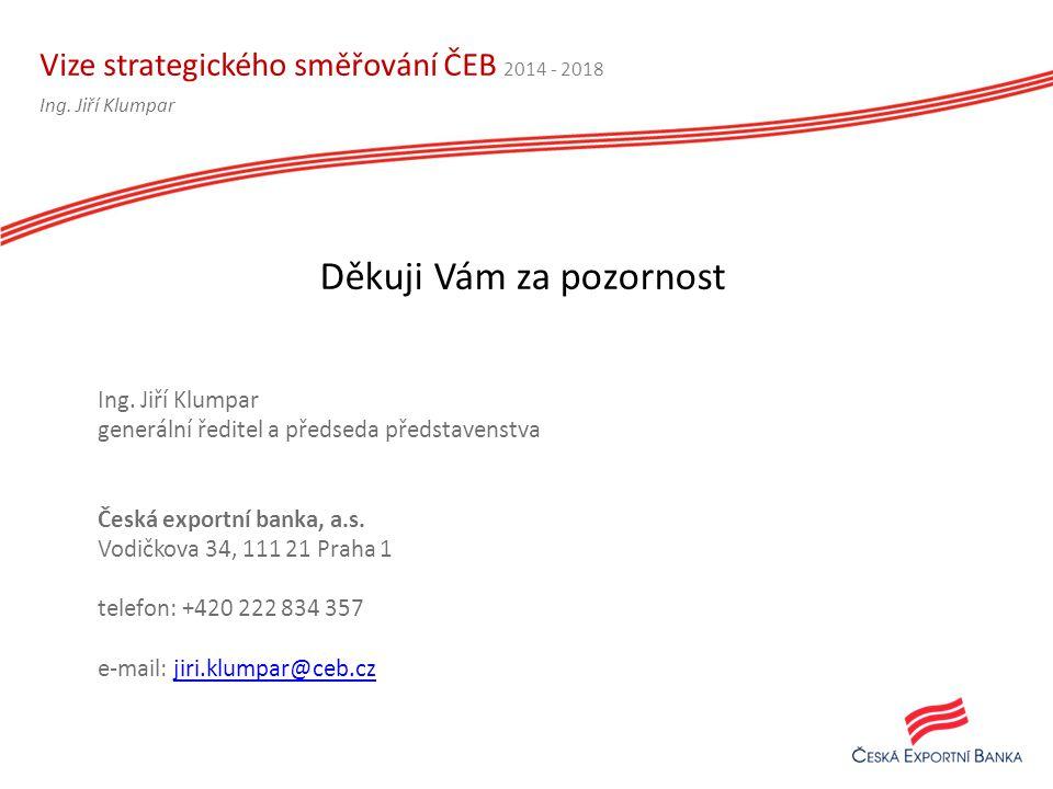 Vize strategického směřování ČEB 2014 - 2018 Ing.