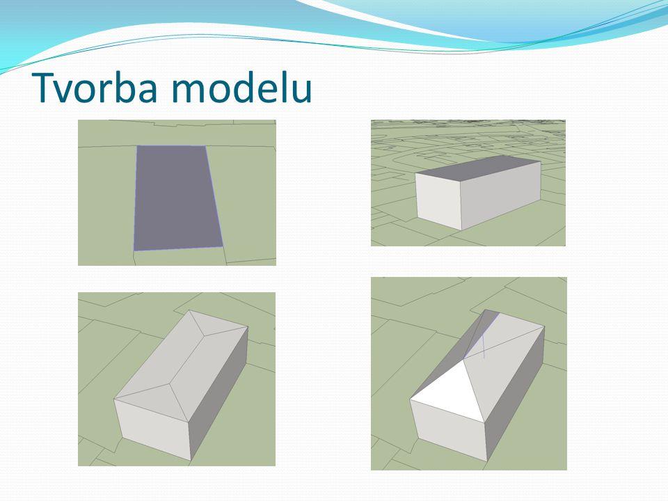 Tvorba modelu