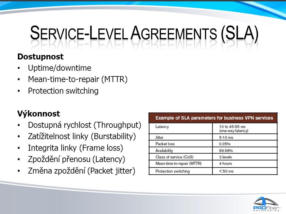 – ITU-T číslo Y.1564: metodologie aktivace služeb – Nový draftový standard pro testování Ethernetových služeb (nahrazuje RFC 2544), schválení leden 2011.